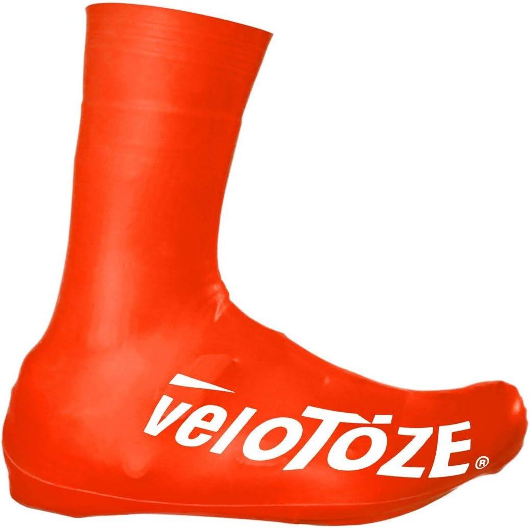 veloToze Couvre-chaussures haut 2.0 pour une utilisation avec des chaussures de v/élo de route.