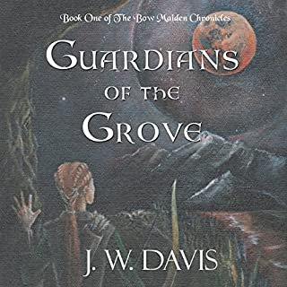 Guardians of the Grove audiobook cover art