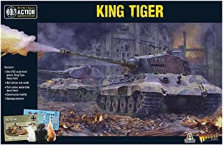 Bolt Action King Tiger Tank 1:56 WWII Military Wargaming Plastic Model Kit