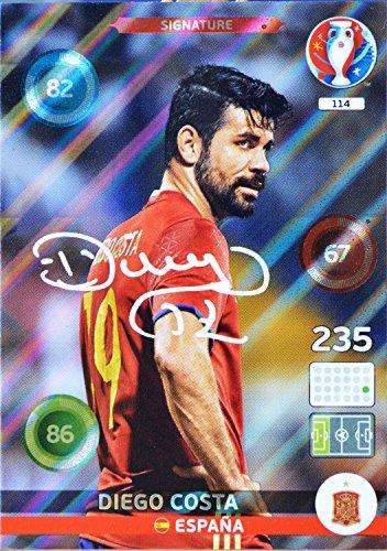 carte PANINI EURO 2016 #114 Diego Costa