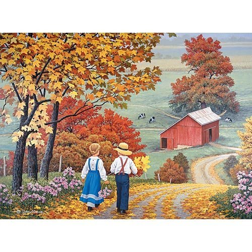 Bits and Pieces John Sloane 1000 Piece Puzzle Golden Days