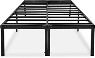 HAAGEEP 18 Inch California King Bed Frame Platform Cal Size Bedframes with Storage No Box Spring Needed Heavy Duty Metal High Tall