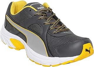 Puma Men's Hercules IDP Silver-Spectra Yellow PSlvr-S Yllw-Asphlt Sneakers-9UK/India (43 EU) (4060979581883)