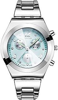 ساعة نسائية أنيقة من الفولاذ المقاوم للصدأ من GoolRC ساعة يد أنيقة فاخرة ساعة يد نسائية كلاسيكية كوارتز