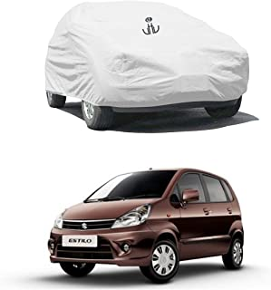 UTTU Silver Parachute Waterproof Car Cover Zen Estilo