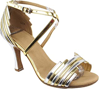 "Women's Ballroom Dance Shoes Tango Wedding Salsa Shoes Sera1700EB Comfortable-Very Fine 3""[Bundle of 5]"