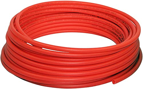 popular Supply Giant APR121000 PEX A Tubing for Potable Wate Non-Barrier Pipe 1/2 high quality in. x 1000 popular Feet, Red sale