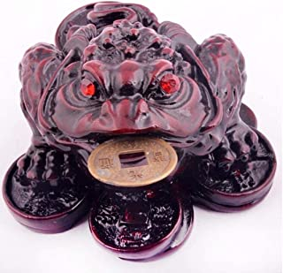 Feng Shui Small Fengshui Three Legged Money Fortune Toad