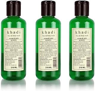 Khadi Neem & Tulsi Face & Body Wash - 210Ml (Set Of 3)