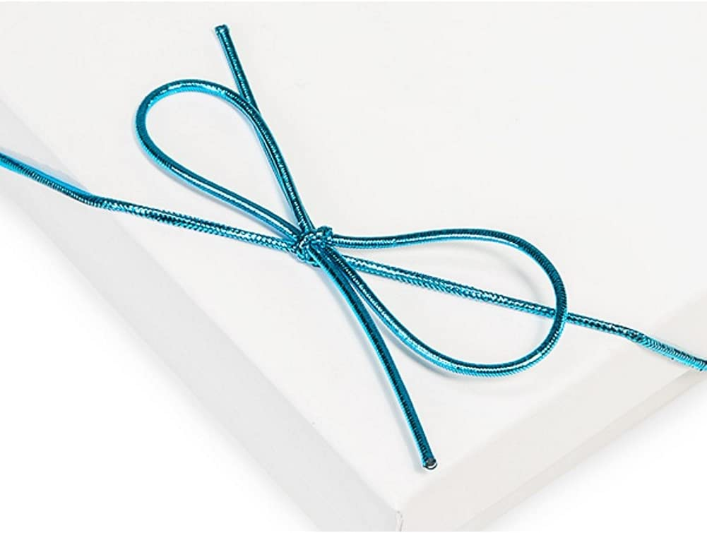 6 まとめ買い特価 Inch Turquoise Blue Loops Metallic 200 Stretch 期間限定送料無料