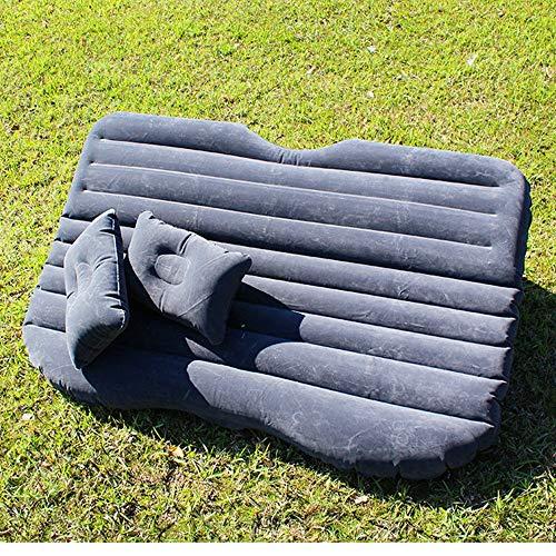 Colchón de Aire Cama portable de aire del coche cama inflable reunida Airbed con una función de almohada for actividades al aire libre y una cama cubierta inflable del recorrido cama para Acampar