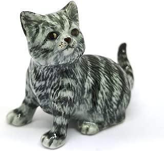 Best miniature ceramic cat figurines Reviews
