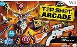 Activision Top Shot Arcade w/ Gun, Wii - Juego (Wii, Pistola)