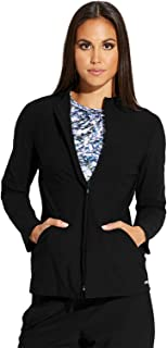 Grey's Anatomy Edge Luna Jacket for Women – Wrinkle Release Medical Scrub Jacket