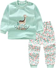 BAOPTEIL Baby Boys' and Girls' Long Sleeve 2-Piece 100% Cotton Pajama Set (6M-5Y)