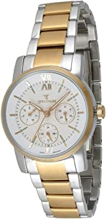 Spectrum Women White Dial Stainless Steel Band Watch - S12546L