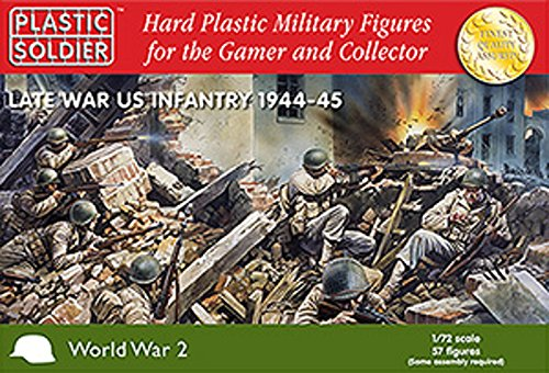 Plastic Soldier Company Late War US Infantry 1944-45