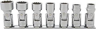 Kobalt 7-Piece Metric 3/8-in Drive 12-Point Flex Socket Set