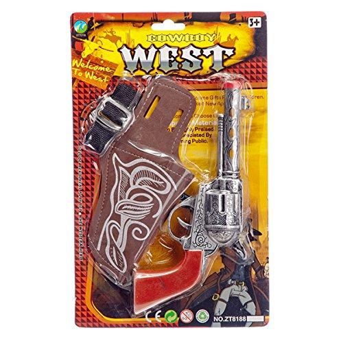 Set de Cowboy Pistolet + etui + sangle - Far West - Deguisement - 865