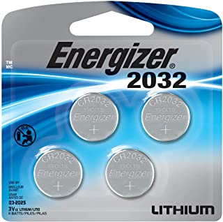 Energizer Watch/Electronic/Specialty Battery, 2032, 3V, 4/Pack (2032BP4), Cr2032