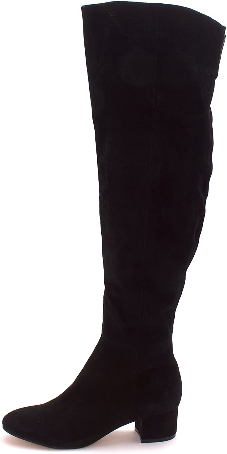 Marc Fisher Womens Instinct Suede Round Toe Over Knee Fashion Boots