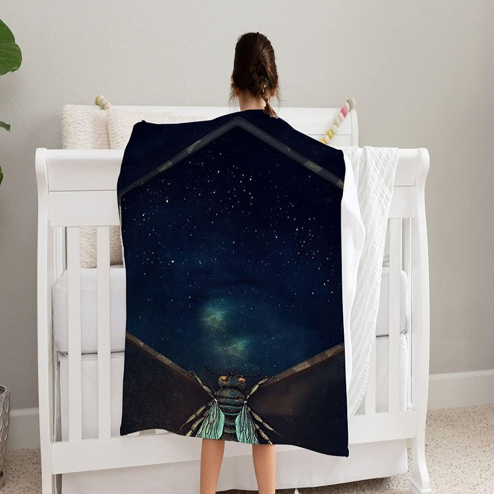 GANTEE 5% OFF Bee Universe Super Ranking TOP5 Soft and f Blanket Fleece Perfect Cozy