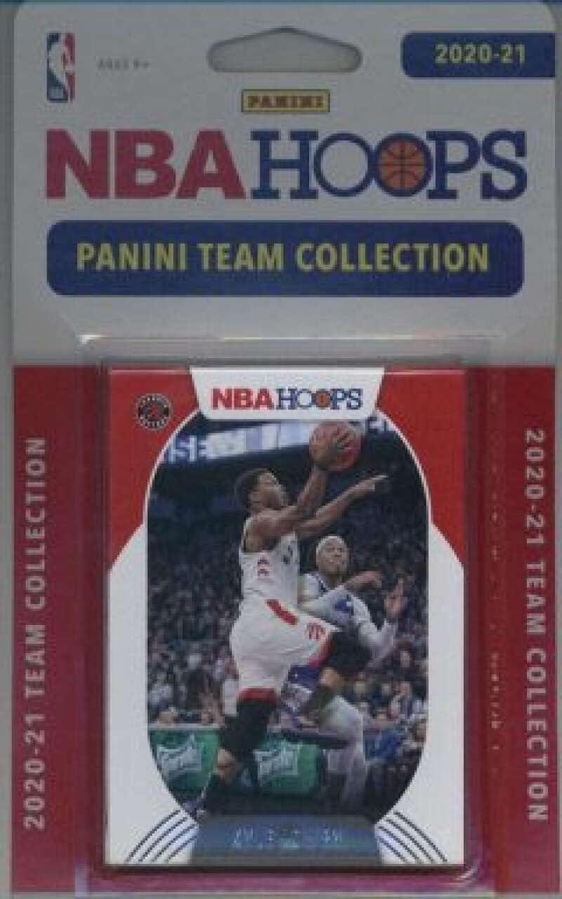 2020-21 Panini NBA Hoops Team Set Max 68% OFF 8 Cards - Raptors Super Special SALE held # Toronto