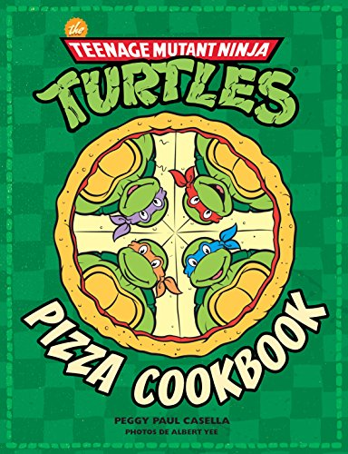 Les Tortues ninja Pizza cookbook