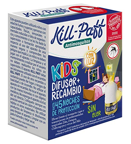 KILL-PAFF KIDS |Insecticida Eléctrico...