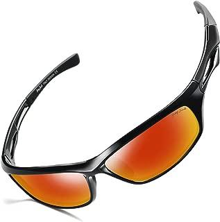 GREY JACK Lightweight Polarized Sports Sunglasses UV Protection Lens Tr Durable Frame for Men Women