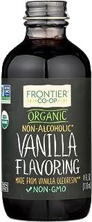 Frontier Herb Vanilla Flavoring - Organic - 4 oz - 95%+ Organic - Non Alcoholic - Non GMO