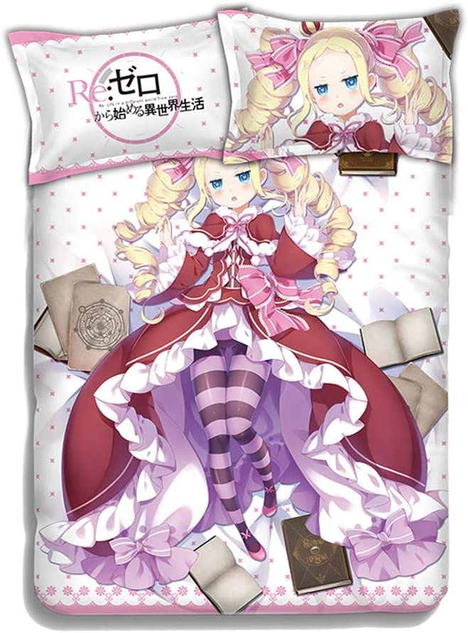 KOSEART Beatrice - Re Zero Japanese Bed Duvet Factory outlet Anime Cove Blanket New product type