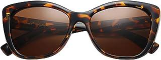 Polarized Woman's Classic Jackie-O Cat Eye Retro Fashion Sunglasses