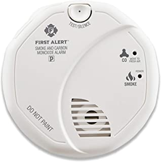 First Alert SCO5CN Combination Smoke and Carbon Monoxide Detector, Battery Operated (Certified Refurbished)