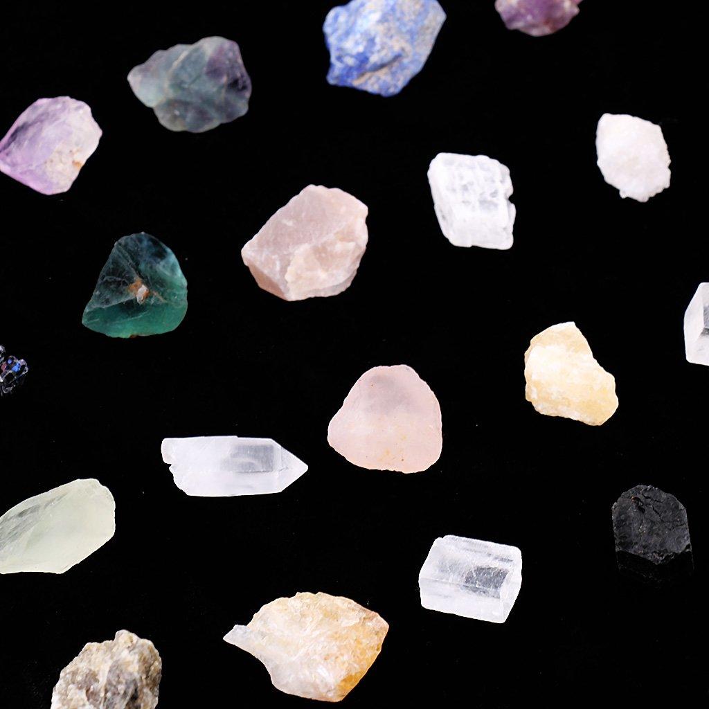 MagiDeal Colección De 1 Paquete De Minerales Naturales De Cuarzo para El Ornamento De La Decoración del Gabinete De La Oficina En El Hogar: Amazon.es: Juguetes y juegos