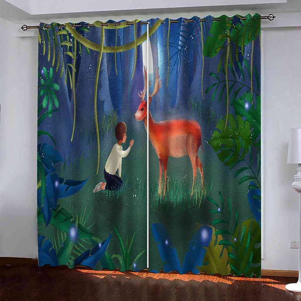 ZJZWLW Max 43% OFF Blackout Curtains for Bedroom Insulated Light B Regular dealer - Thermal