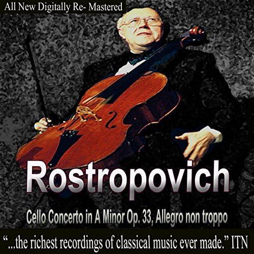 Mstislav Rostropovich, Moscow Philharmonic Orchestra, Kyrill Kandrashin, Moscow Chamber Orchestra, Rudolph Barshai