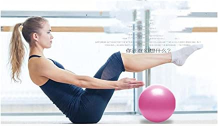 Heyuni.1pc Pilates Ball, Barre Ball, Mini Exercise Ball, 25cm Small Bender Ball, Pilates, Yoga, Core Training and Physical Therapy, Improves Balance, Core Strength & Posture