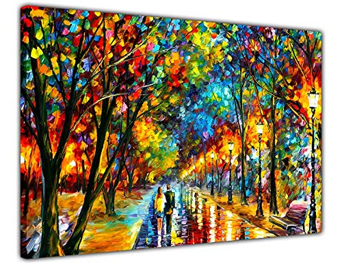 "AT54378D When The Dreams Came True von Leonid Afremov auf abstraktem Ölgemälde, Nachdruck auf Leinwand 01- A4 - 12"" X 8"" (30cm X 20cm)"