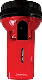 Life Gear LED Glow Spotlight with Storage Compartment, Red