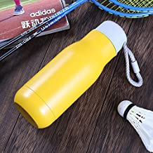 Portable Outdoor Sports Insulation Cup 304 Stainless Steel Sports Kettle Sports Insulation Cup 500Ml Yellow