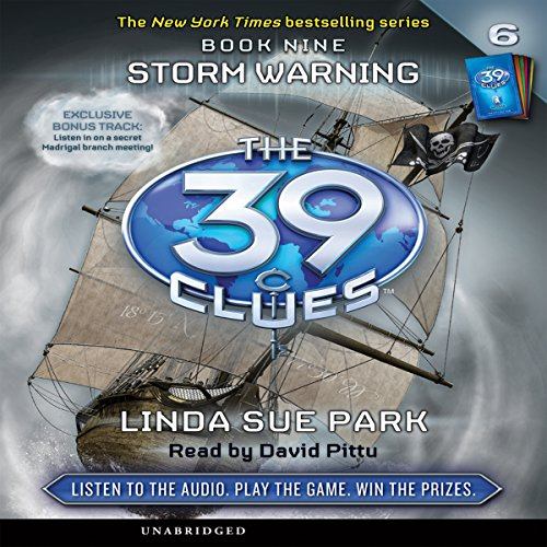 The 39 Clues, Book 9 audiobook cover art