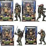 HAIZI FIGURE 1990 Película Versión Tortugas Ninja 7 Pulgadas Figura...