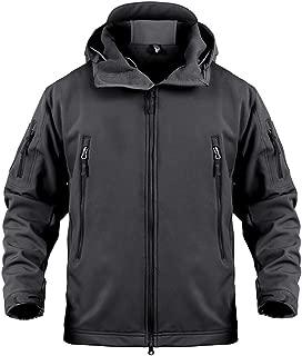 Meidly Waterproof Jacket Men Camouflage Jacket Soft Shell Windbreaker Winter Hooded Coat Hunt Clothes