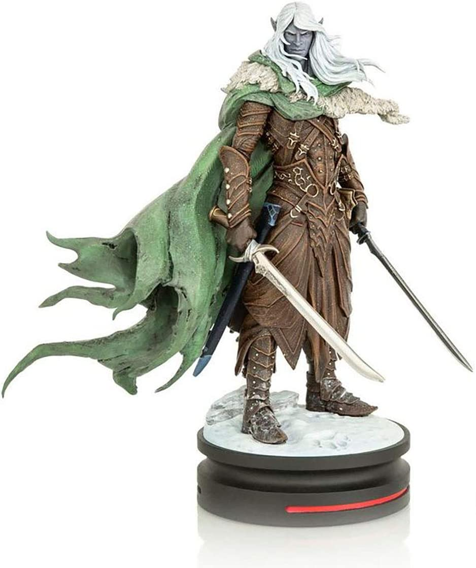 Dungeons and Dragons Drizzt Do'Urden Modern Icons Statue