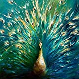 Diy 5D Diamond Painting Full Drill Set Pájaro Misterioso Hecha A Mano Pintura Digital Para Adultos Completo Crystal Rhinestone Punto Cruz Bordado Arte For Casa Decoración Q8974 Square Drill,50X50Cm