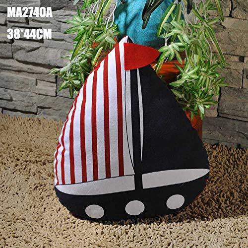 flower Mediterraner Stil Segeln Kissen Kissen Auto Kissen Haus Sofa Schmuck MA2741A