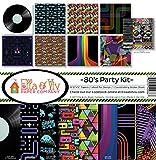 Ella & Viv by Reminisce 80's Party Scrapbook Collection Kit