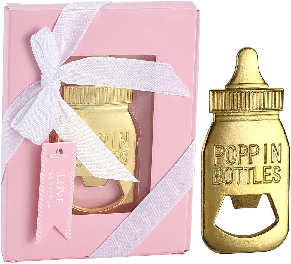 YFS 24 Pcs Pink Bottle Opener Guest Gifts Sales of SALE items from new works Sale Return for Shower Baby