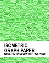 Isometric Graph Paper. Isometric Notebook. 8.5x11